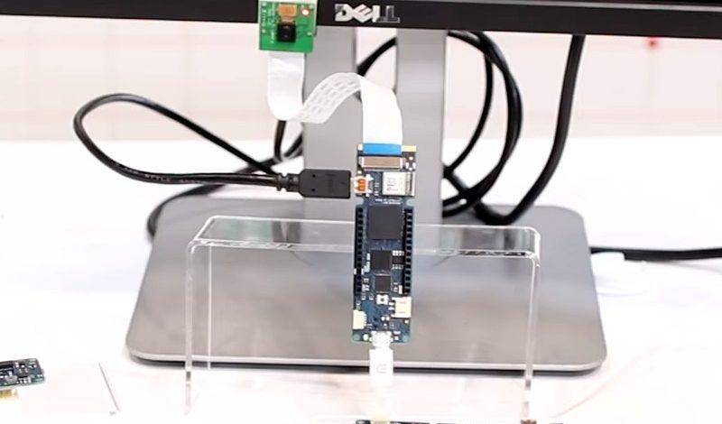 Video of the Arduino FPGA Board Demo at Maker Faire